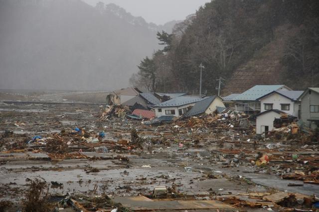 岩泉町の津波被災状況 | いわい...