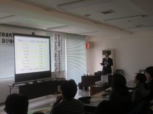 岩手医科大学 東北メディカル・メガバンク機構の丹野先生からの講演をいただきました。