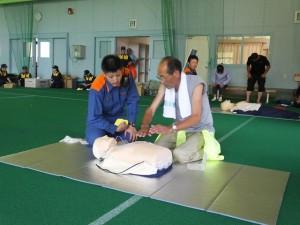 心肺蘇生法訓練