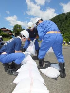 水防工法訓練