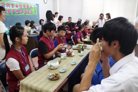 台湾式茶道のおもてなし