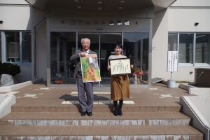 岩泉町の特殊詐欺被害を防止、警察署と地域安全センターがオリジナルポスターを作成