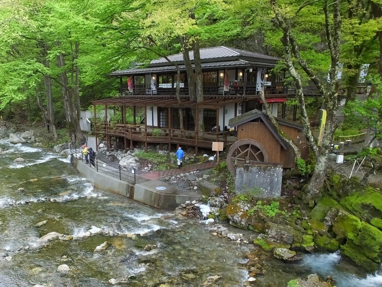 岩泉町龍泉洞から・雨の日の営業について   いわいずみブログ