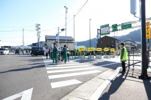 We keep security of Iwaizumi-cho, children