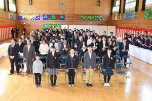 岩泉町・ありがとう地域の皆さん、浅内小で閉校式