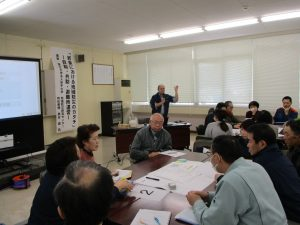 岩泉町自主防災協議会等防災研修会を開催しました