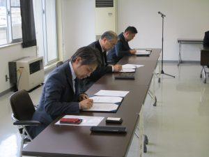 災害時電気車両支援協定を締結しました